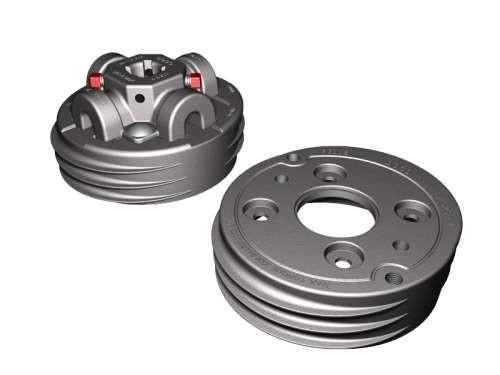Satz Federköpfe M-152 Aluminium