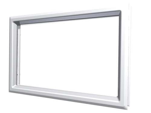 Rechteckiges Acrylfenster