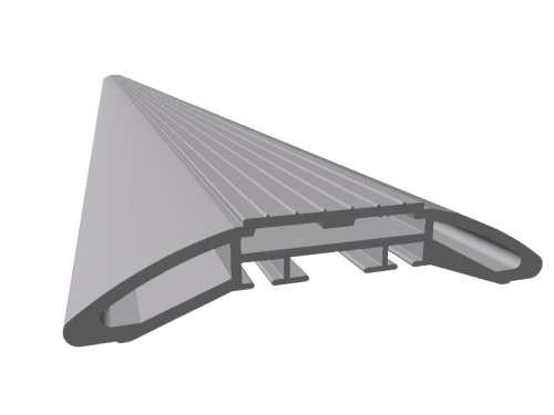 Aluminiumprofil für niedrige Schwelle von nur 22 mm