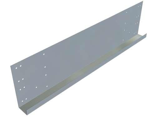 Endkappe mit doppelter Breite, L 605 mm,