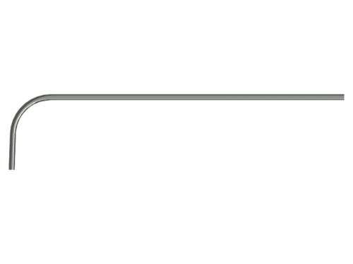 Laufschiene mit Bogen, Radius 381 mm