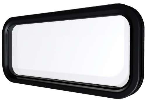 Ovales Fenster mit Klickverbindung
