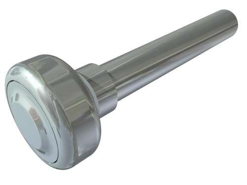 Laufrolle für LKW-Tore 27,0mm mit Nut