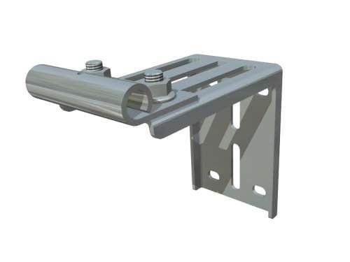 Einstellbarer Rollenhalter aus verz. Stahl
