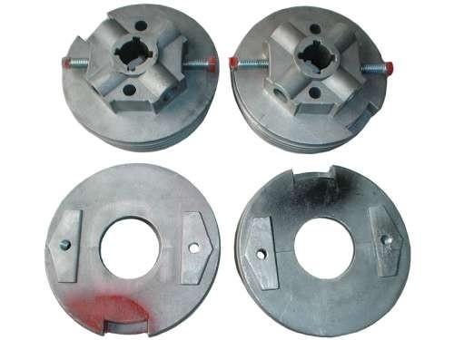 Set Federköpfe M-133 mm Aluminium