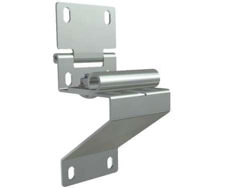Seitenscharnier aus verzinktem Stahl
