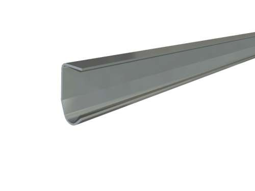 Senkrechte Laufschiene, verzinktem Stahl