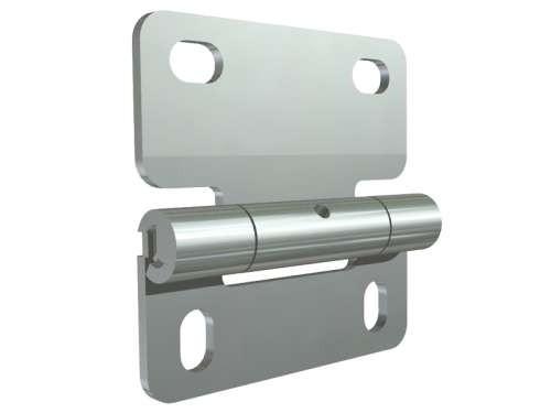 Mittelscharnier aus verzinktem Stahl