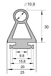 OSE-P 25 30 00 Profil