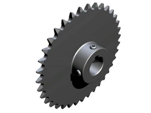 Kettenrad aus Stahl mit 36 Zähnen