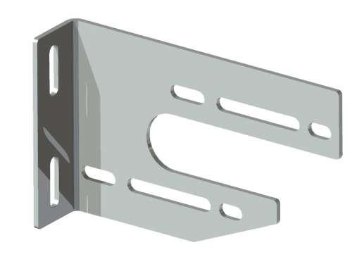 Universal-Konsole aus 4 mm verz. Stahlblech