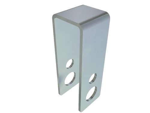 Sicherheitsbügel/Seilrollenhalter für Seilrollen, verz. Stahl