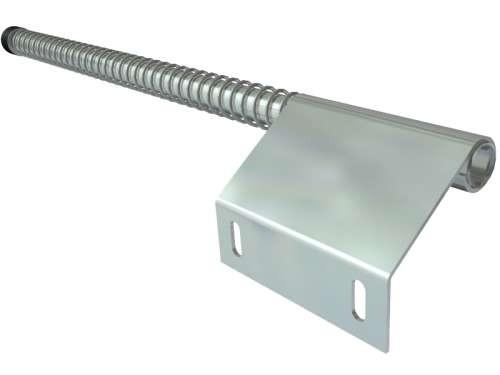 Federpuffer, verzinkter Stahl