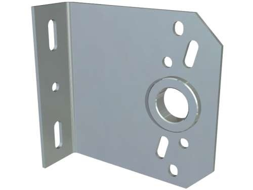 Mittlere Konsole aus 4 mm verz. Stahlblech