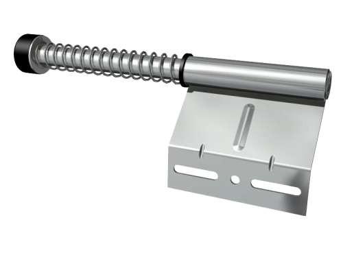 Federpuffer kurz, verzinkter Stahl
