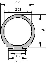 21 Z 58 - Druckwellengeberprofil