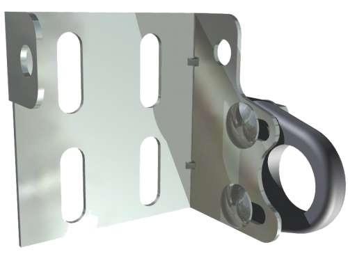 Wellenunterstützung, Verzinkter Stahl und PA Kunststoff