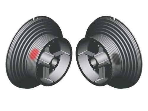 Seiltrommel 2SW HL164-6000/HL4100 - Aluminium