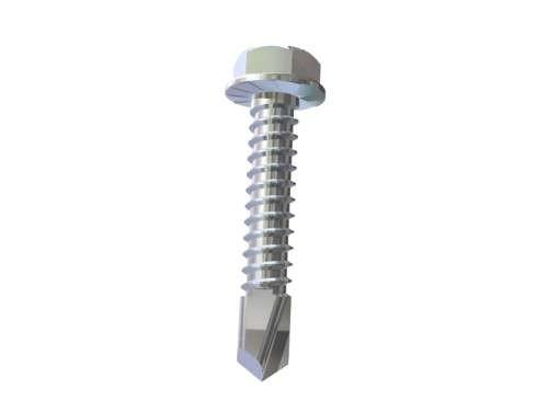 Selbstbohrende Schraube 6,3 x 25mm, verzinkt