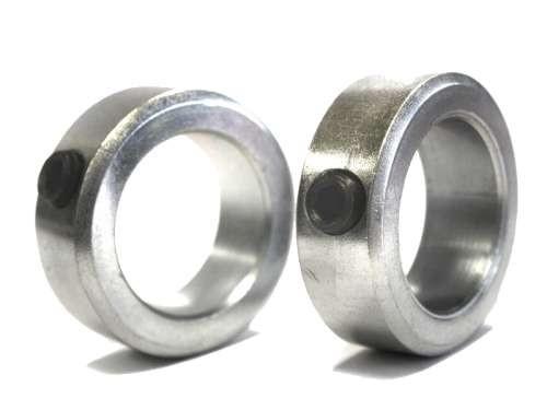Stellring aus verzinktem Stahl mit Schraube