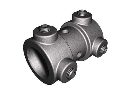 Wellenkupplung Aluminium 25,4 mm mit Nut