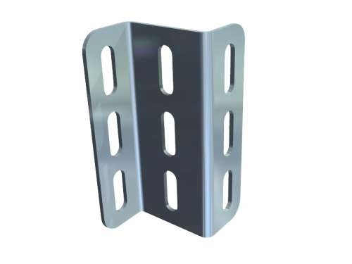 Z-Profil, aus verz. Stahl 30x51,5x30-113,5mm